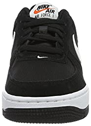 Nike Youth Air Force 1 (GS) Boys Basketball Shoes Black/White 596728-026 Size 5