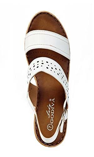e0db2b152763 ... Lady Godiva Women s Open Toe Wedge Sandals Sandals Sandals Multiple  Styles B079YY82C2 7 B(M ...