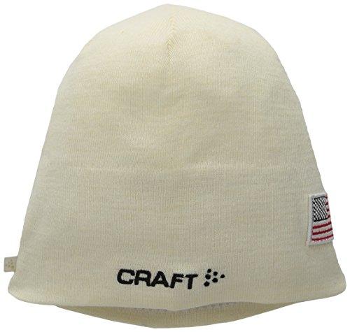 Craft Race Hat Country Wool Beanie, White, Small/Medium