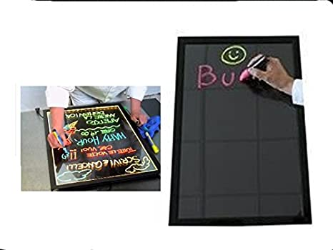 Led Tablero de escritura 80x60cm. letreros de néon ...