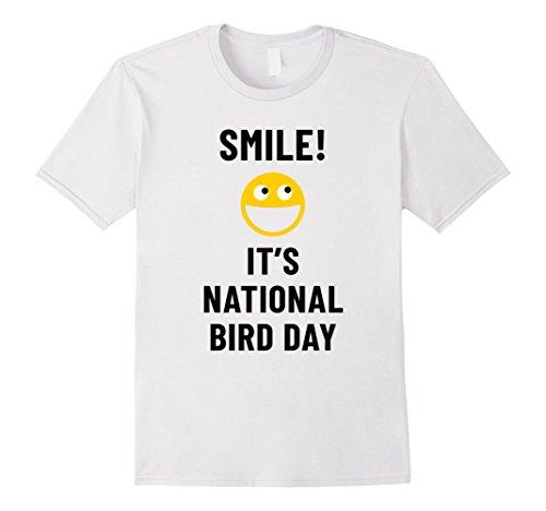 Smile! It's National Bird Day Weird Holiday Celebration - Weird National Holidays