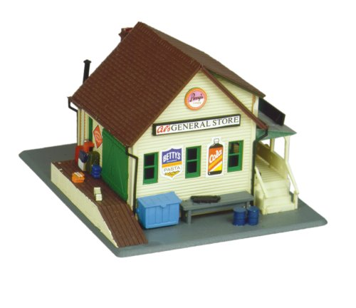 - Life-Like Trains  HO Scale Building Kits - General Store