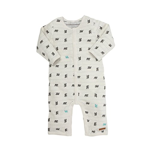 Robeez Baby Coverall, Grey/Blue, 6 Months ()