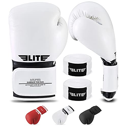 2021 Best Boxing & Kick Boxing Gloves for Men and Women | Training & Sparring Gloves for Pro Fighters | Complimentary…