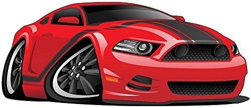 12「Cartoon 2013 12「Cartoon RaceスポーツRacing Car # Cave 2赤デカール壁ステッカー子供ベビールームホームアート飾りMan # Cave DenグラフィックSmall B01KEGL4K4, 天城わさびの里:86dd3e37 --- ijpba.info