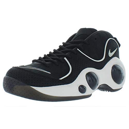 Nike Mens Zoom Flight 95 High Top Active Basketball Shoes Black 8 Medium (D) (Nike Zoom Flight Basketball Shoes)