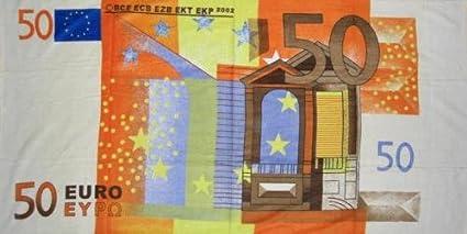 70 x 140 cm Badetuch Handtuch Strandtuch Badetuch mit Geld Motiv Saunatuch