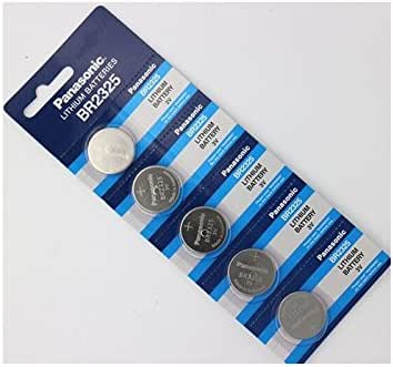 Panasonic BR2325 3V Coin Lithium Battery (5Pcs per Pack)