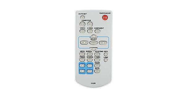 Mando a Distancia para proyector Sanyo PLC-XU355A PLC-XU305A PLC ...