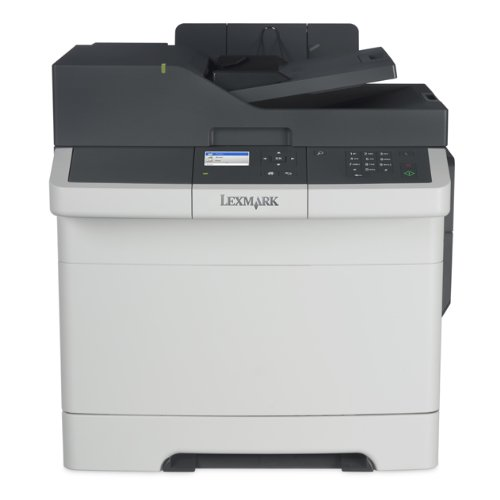 Lexmark CX317dn Color All In One Laser Printer with Scan Copy Network Ready Duplex Printing and Professional Features