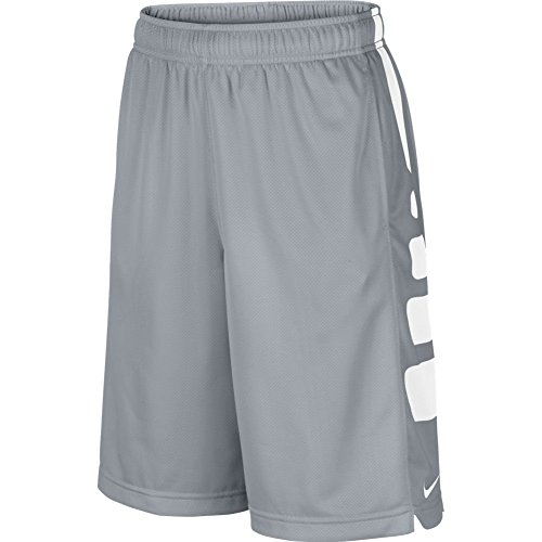 Nike Boy's Elite Striped Short (MD (10-12 Big Kids) X One Size, Wolf (Nike Lightweight Shorts)