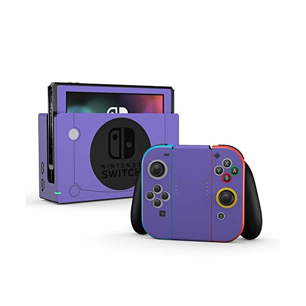 Cubed - Decal Sticker Wrap - Compatible with Nintendo Switch 1