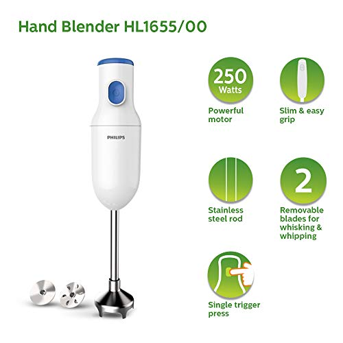 Philips Daily Collection HL1655/00 250W Hand Blender White best price deals offers