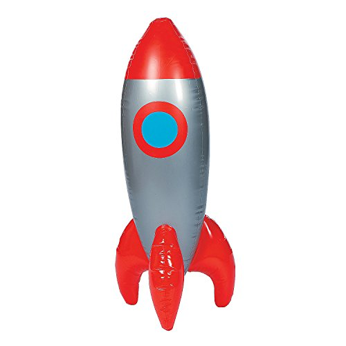 Inflatable God's Galaxy VBS Rocket -