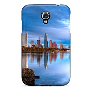 Hot Tpye City On The River In Blue Case Cover For Galaxy S4 by icecream design