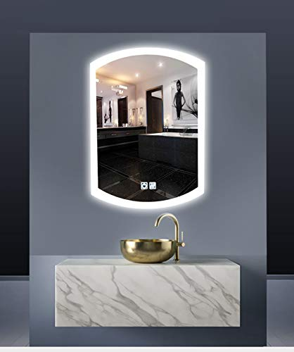 700 X 500MM Mirror of Bath Room in Fan Shape, Defogger - -