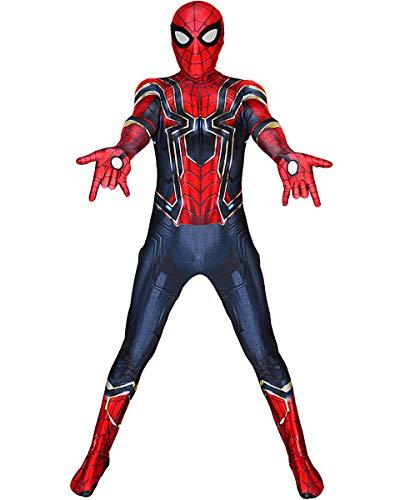 Iron Spider Costume Boys Avengers Infinity War Spiderman Suit Kids L