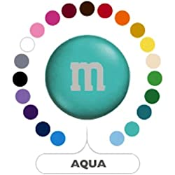 M&M's Aqua Milk Chocolate Candy 5LB Bag (Bulk)