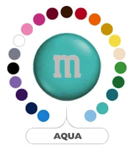 M&M's Aqua Milk Chocolate Candy 5LB Bag (Bulk)