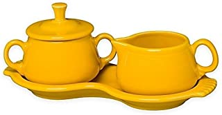 product image for Homer Laughlin Sugar Creamer Tray Set, Daffodil