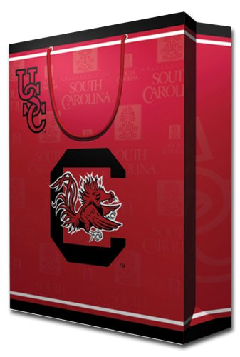 NCAA South Carolina Fighting Gamecocks Gift Bag, Large