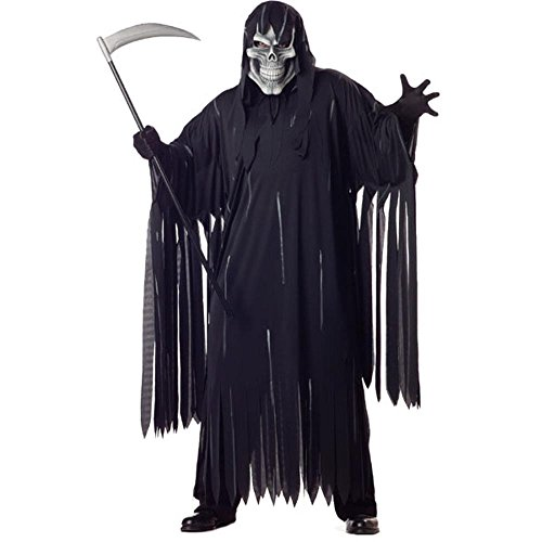 Adult Plus Size Soul Taker Halloween Costume (Size: XX-Large 48-52)