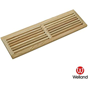 Welland Hardwood Register Cold Air Return Wall Vent