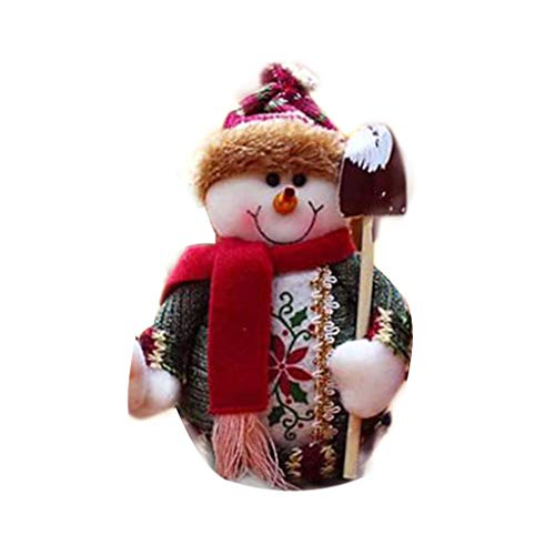 Chenway Christmas Decor Doll Standing Toy Xmas Tree Toy Bauble Hanging Home Party Ornament Decor Decoration Home Xmas Gift Party Christmas Tree Accessories (B)