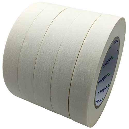Wholesale Pusdon Masking Tape, White, Pack of 5, Each 3/4-Inch x 60 Yards (19mm x 55m) hot sale