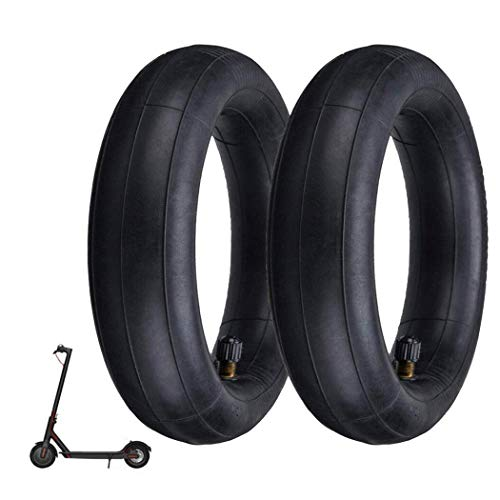 8-1/2'x 2' Scooter Replacement Inner Tubes (2-Pack) For Xiaomi M365, Pocket Bikes, Gas Scooters, Mini Choppers, Electric Scooters, Mini Bikes, Razor, X-Treme, Bladez, Mobility Scooters and More