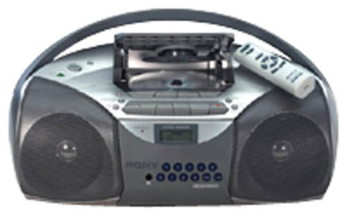 SONY  CFD-S200 CD Radio Cassette Recorder Boombox (Boombox Remote compare prices)