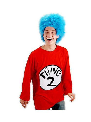Thing 2 Adult Costume Kit Size: Small/Medium ()