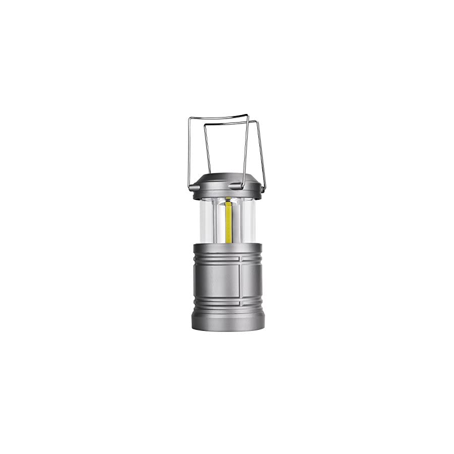 Camping Lantern Battery Powered LED Lantern with Magnetic Base, 30 LEDs COB Technology Water Resistant Collapsible 500lm, camping gear equipment