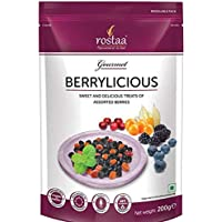 Rostaa Berrylicious (Mix Berries) 200 g(Pack of 1)
