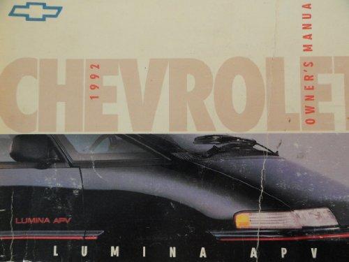 1992 Chevrolet Lumina Owners Manual