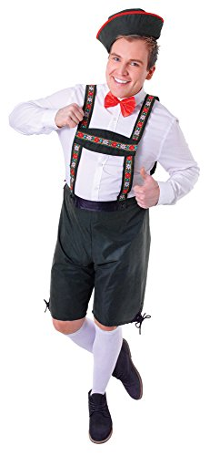 Bristol Novelty AC513 Hansel Costume, Size 42 - 44-Inch ()