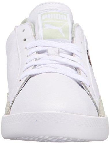 Puma Womens Match Per Sneaker Sportivo Base Sneaker Bianco / Verde