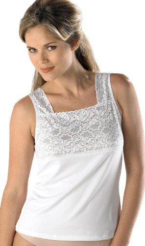 Bay Studio Intimates Lace Camisole X-Large White
