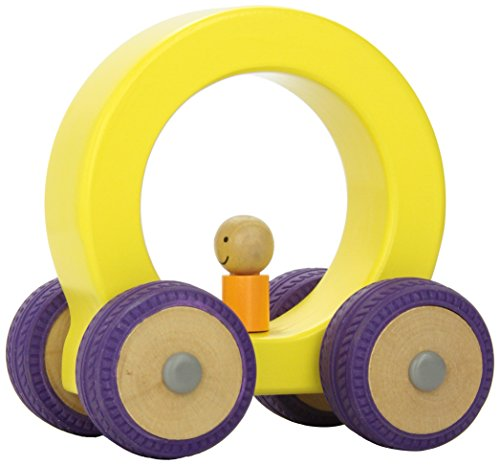 Manhattan Stationary - Manhattan Toy Ready Set Go Large Cars, Yellow/Purple