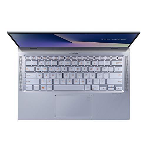 "ASUS ZenBook 14 Ultra Thin and Light Laptop, 4-Way NanoEdge 14"" FHD, Intel Core i7-10510U, 8GB RAM, 512GB PCIE SSD, NVIDIA GeForce MX250, Windows 10 Home, Utopia Blue, UX431FL-EH74"