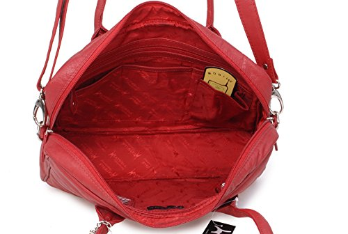 Catwalk Bags Cross Handbags Red Womens Grosvenor Collection Body Oqv7Ofw