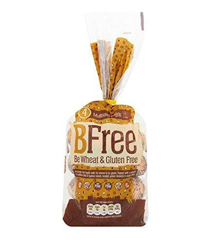 BFree Gluten Free Bagels, Multiseed, Vegan, Soy Free, Egg Free, Nut Free, Dairy Free, Kosher 11.29 Ounce (Pack of 3)