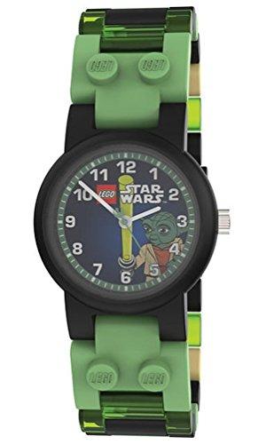 Lego Wrist Watch Minifigure Green