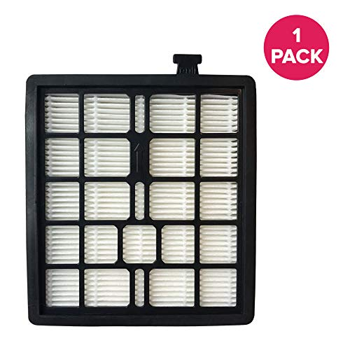 Crucial Vacuum Replacement Vacuum Filter Compatible with Dirt Devil Vacs - Part F45 - Fits Models Pets Canister SD40000, EZ Lite Canister SD40010, Parts 2KQ0107000 2-KQ0107-000 F45 F-45 Bulk (1-Pack)