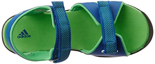 adidas Sandplay Od K Sandalias de deporte, Unisex infantil Azul (Eqt Blue/Semi Solar Lime/Core Black)