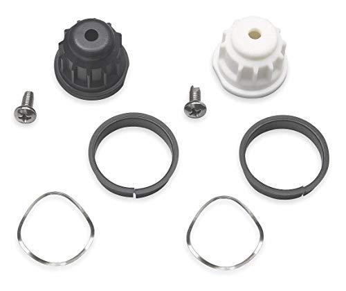 Moen Handle Adapter Kit for Moen Monticello 2 Handle Roman Tubs, Mini Widespreads, Centersets, Bar Faucet ()