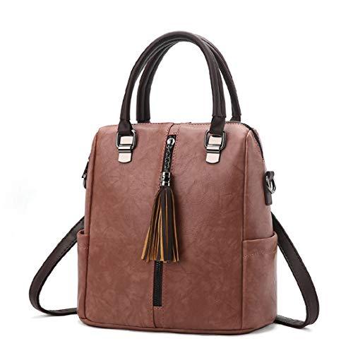 dos sac usages à à Deep sac multi sacs sacs dames Sentsreny bandoulière pour les en à cuir main de Sacs rétro femmes messenger Pink luxe qZFEwxT