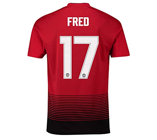 Manchester United FC Official Soccer Gift Mens Fred 17 Home Kit Shirt LGE. (Shirt Home Kit)