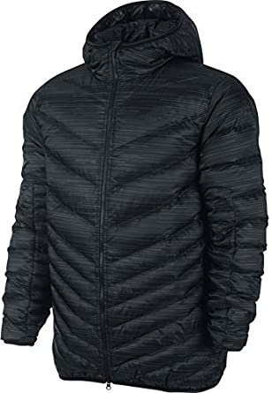 Nike CASCADE DOWN HOODED Men s Jacket (X-Large (XL))  Amazon.co.uk ... a3689acf0bcd