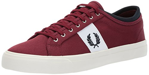 Fred Perry Kendrick Getipte Manchet Tricot Sneaker Port
